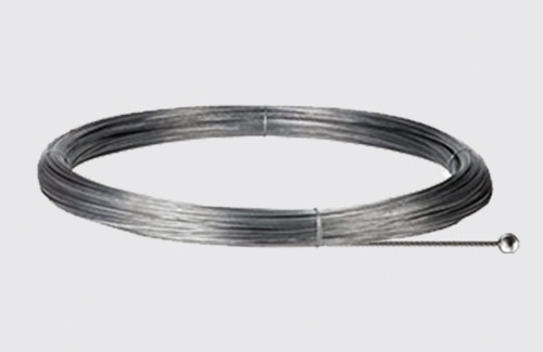 Stahlseil mit kugelförmigem Ende - Länge 3000 mm, Durchm. 1,5 mm, STUCCHI, Stahl