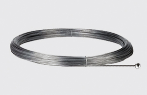 Stahlseil mit kugelförmigem Ende - Länge 3000 mm, Durchm. 1,5 mm, STUCCHI, Stahl small 0