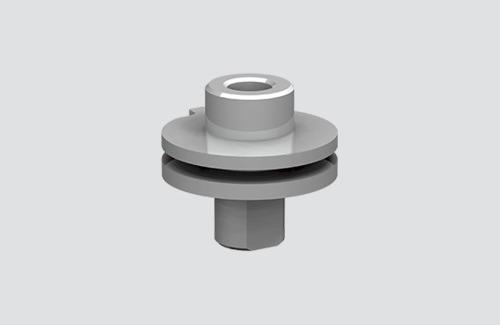 ALU M13-Stecker für Adapter 9009 und S-9000 / M, STUCCHI-Sammelschienen