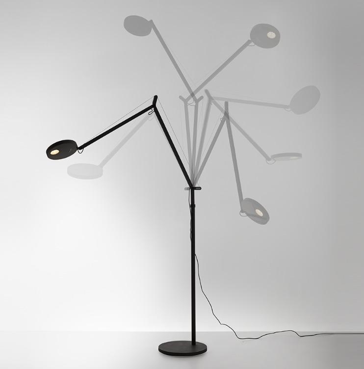 Stehlampe zum Lesen Artemide DEMETRA Antracyt 2700K 1734W10A