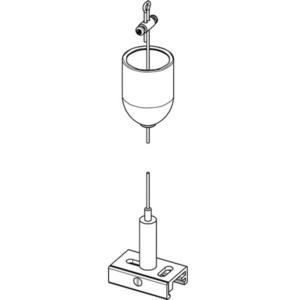 BASIC Federungssatz mit Griff, Länge 3000 mm, STUCCHI, 9000-KIT3-3-W small 1