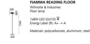 Artemide FIAMMA Stehleuchte, schwarz small 1