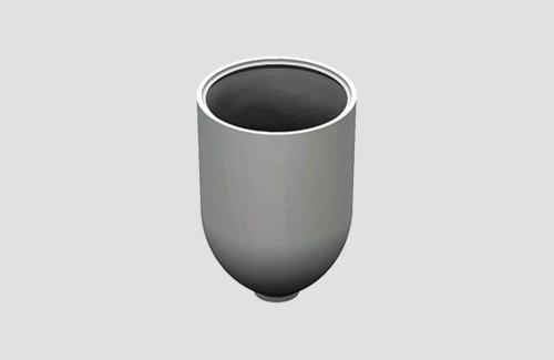 Kabelbefestigungsdeckel mit Durchm. 1,5 mm, STUCCH, weiß, schwarz, grau