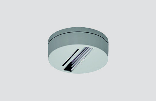 Deckenmontagesockel ohne Adapter, STUCCHI-Stromschienen, weiß, schwarz, grau