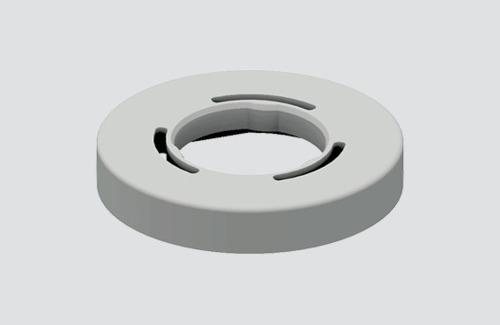 Abdeckung für S-9909 / M10, STUCCHI Sammelschienen, weiß, schwarz, grau