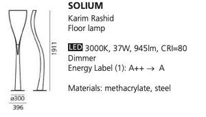 Stehleuchte Artemide SOLIUM LED small 1