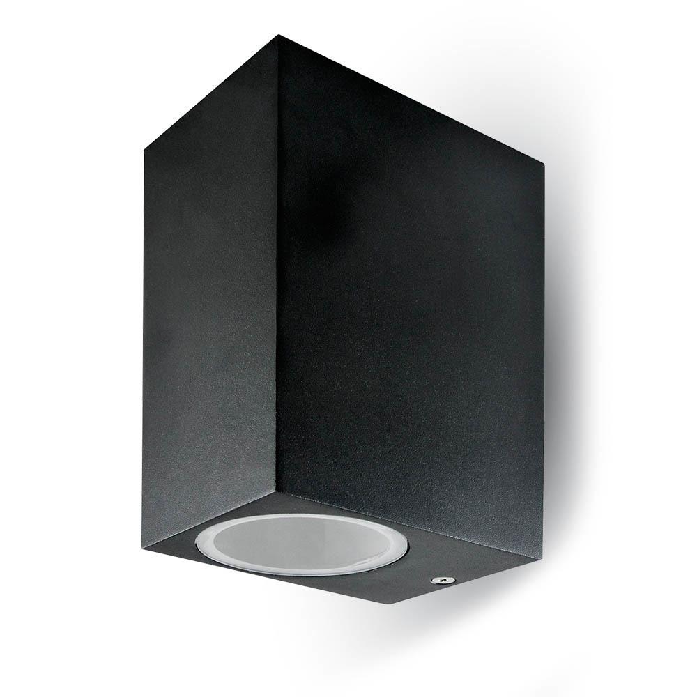 GUFI IP44 GU10 Außenwandleuchte GU10 schwarz