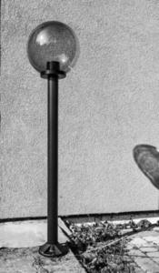 Gartenlampe stehend Mondlampe geraucht 20 cm E27 schwarzer Pfosten 100 cm small 4