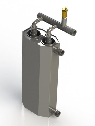 6 kW Doppelinduktionskessel zum Heizen der Fläche von 120m² - 140m²