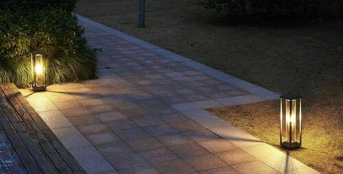 Porto Garten Stehleuchte 50cm + LED Glühlampe