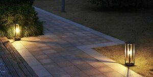 Porto Garten Stehleuchte 50cm + LED Glühlampe small 0