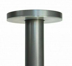 Rondo Gartenpfosten LED 45cm, grau small 1