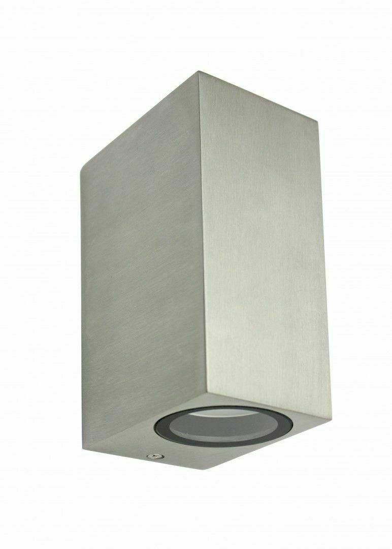 Außenwandleuchte MINI 5002 BR, Aluminium gebürstet