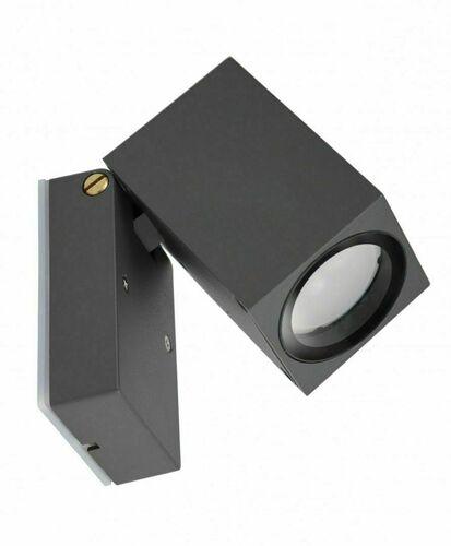 Verstellbare Außenwandleuchte MINI 5005 DG, dunkelgrau