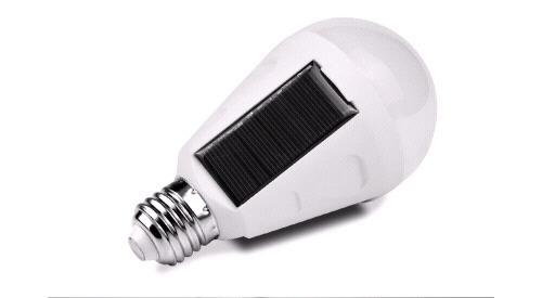 7W E27 Solarlampe mit Dämmerungssensor