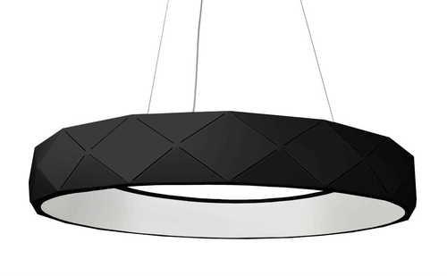 Reus LED hängend schwarz