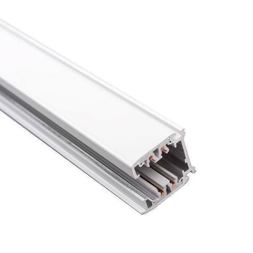 1m Drehstromschiene 230V Aluminium weiß schwarz