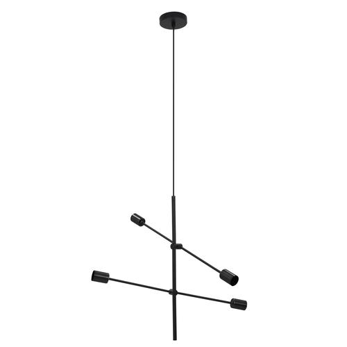 Schwarze Rotor Hängelampe 4