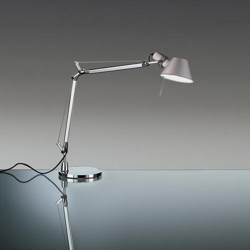 Artemide Tolomeo Mini LED A005500 + A008600 Schreibtischlampe
