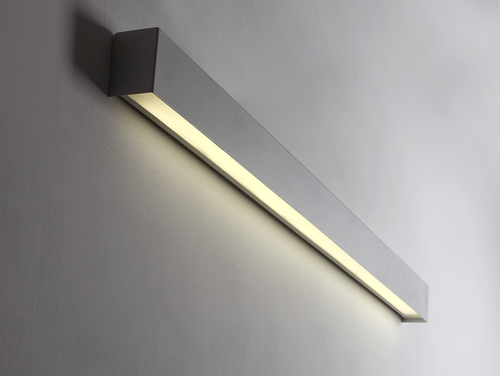LINE WALL LED L Wandleuchte - weiß
