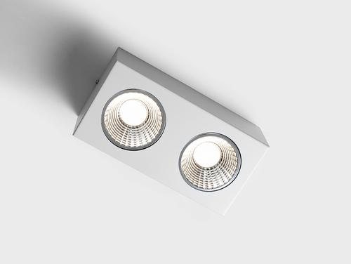 FLASS 2 LED Deckenleuchte - weiß