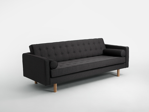 Dreisitziges Schlafsofa TOPIC WOOD