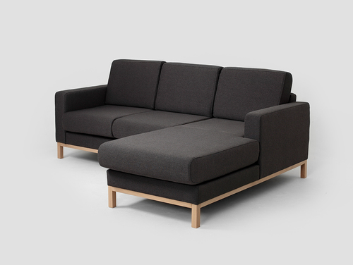 Zweisitzecke mit Chaiselongue SCANDIC P