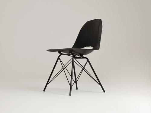 MATCH METAL BLACK Stuhl - schwarz