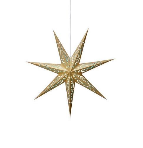 ELIN Paper Star blau-gold