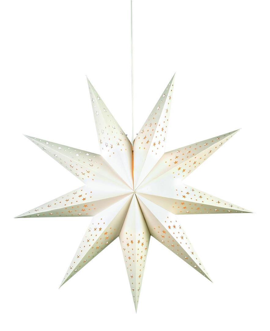 OLVALLA Star 75cm weißes Buch