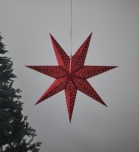 CLARA Anhänger Stern 75 Rot small 0