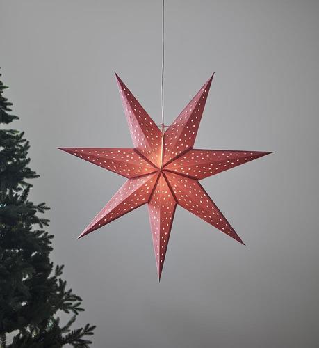 CLARA Anhänger Stern 75 Pink