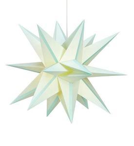 Skillinge 3D Paper Star Lightblue Anhänger small 1