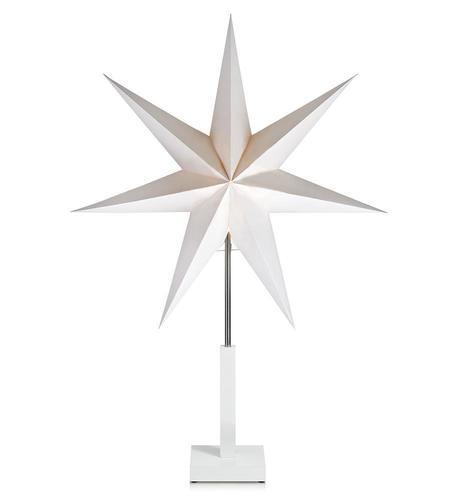Duva Paper Star Table 75cm weiß