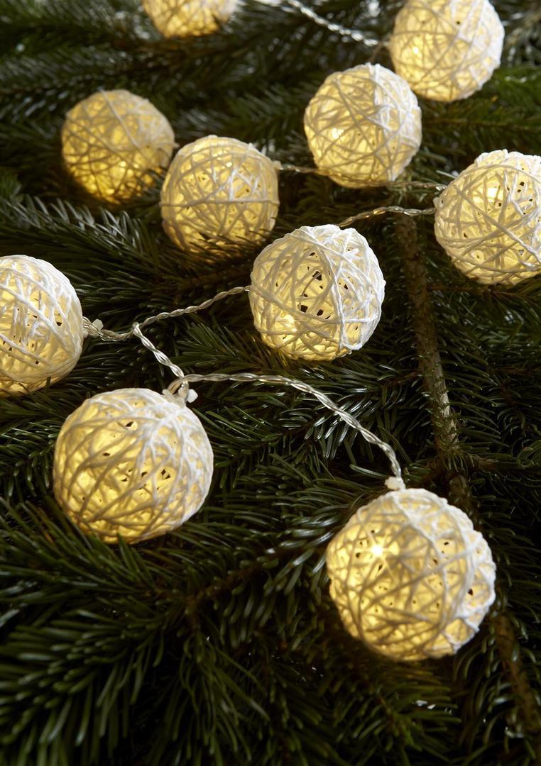 SIA Lichterkette 10L Ball LED