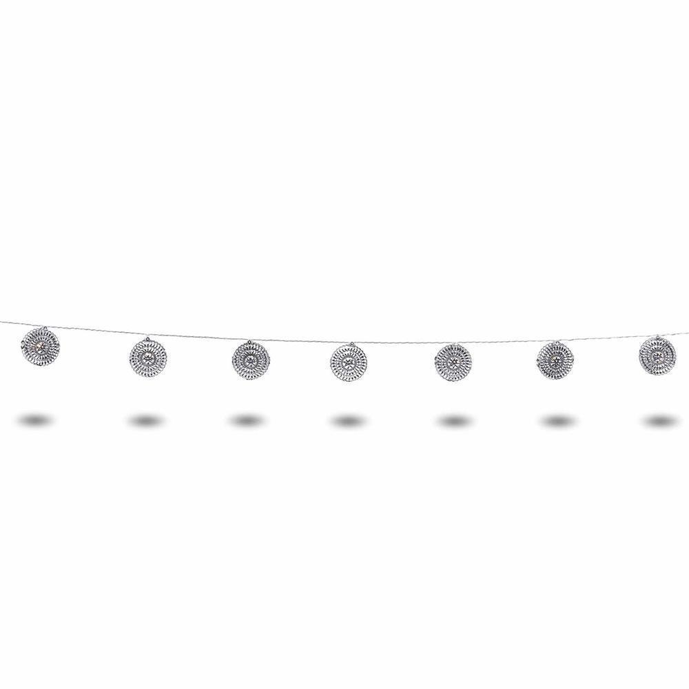 PLAN Light chain Runde Verzierungen 10L WW