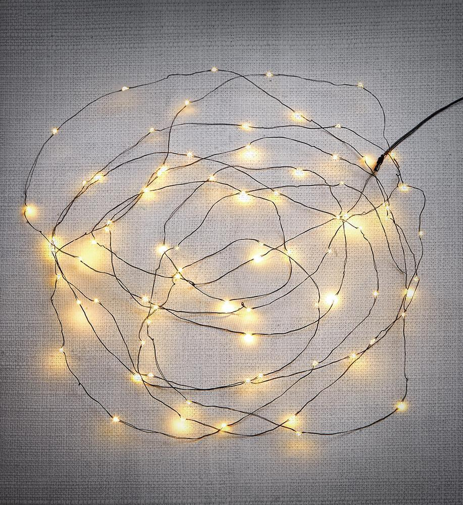 FENIX 160 Mini LED Leuchtkette IP44 Transformator
