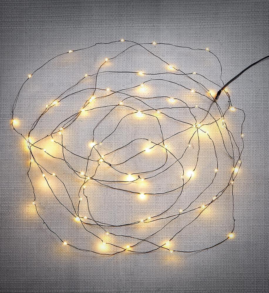 FENIX 200 Mini LED Leuchtkette IP44 Transformator