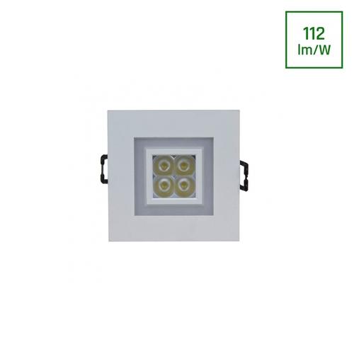 Fiale 4 Led 4 X1 W 30 St 230 V quadratisch mit warmweißem Rahmen Ww Led Eyes
