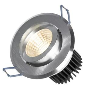 Drähte II 6 W Cob 38 St 230 V Cw Ring aus gebürstetem Aluminium small 0