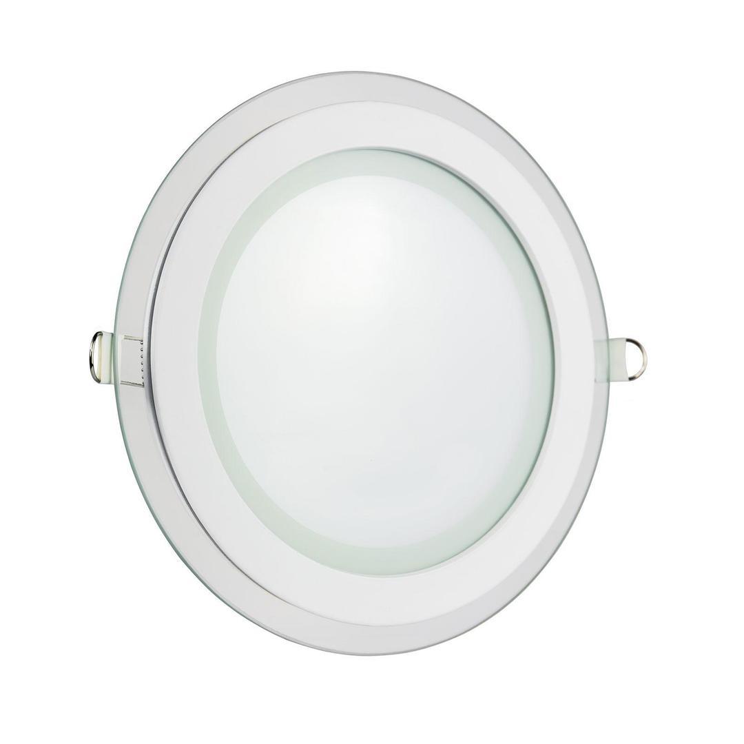 Eco Led Runde 230 V 6 W Ip20 Nw Decke Glaswellen