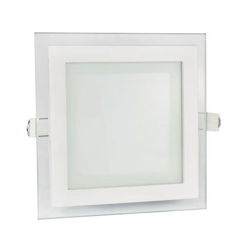Kabel Eco Led Square 230 V 6 W Ip20 Cw Deckenglasauge