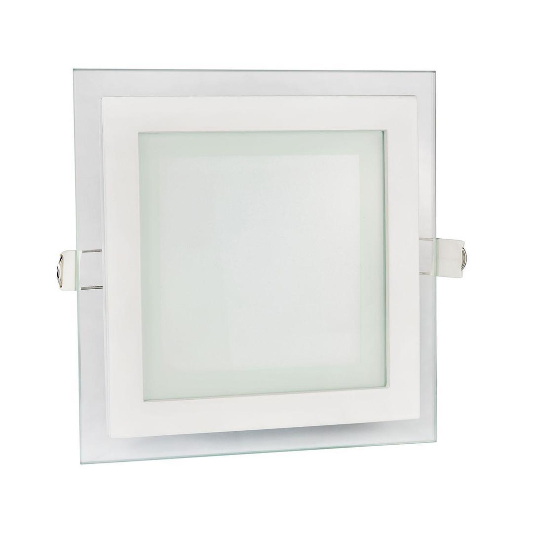Drähte Eco Led Square 230 V 6 W Ip20 Ww Deckenglasauge