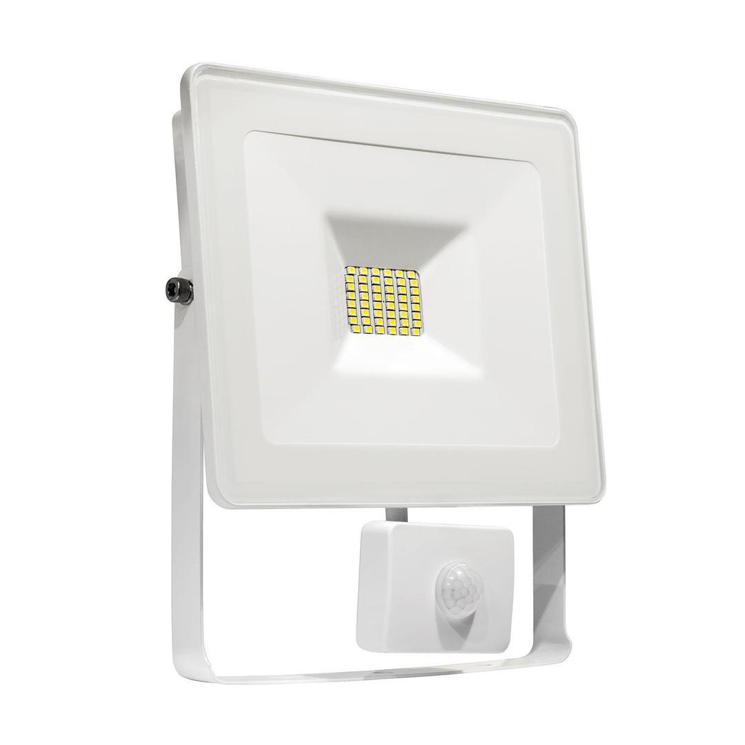 Noctis Lux Smd 120 St 230 V 10 W Ip44 Ww Wallwasher Weiß Mit Sensor