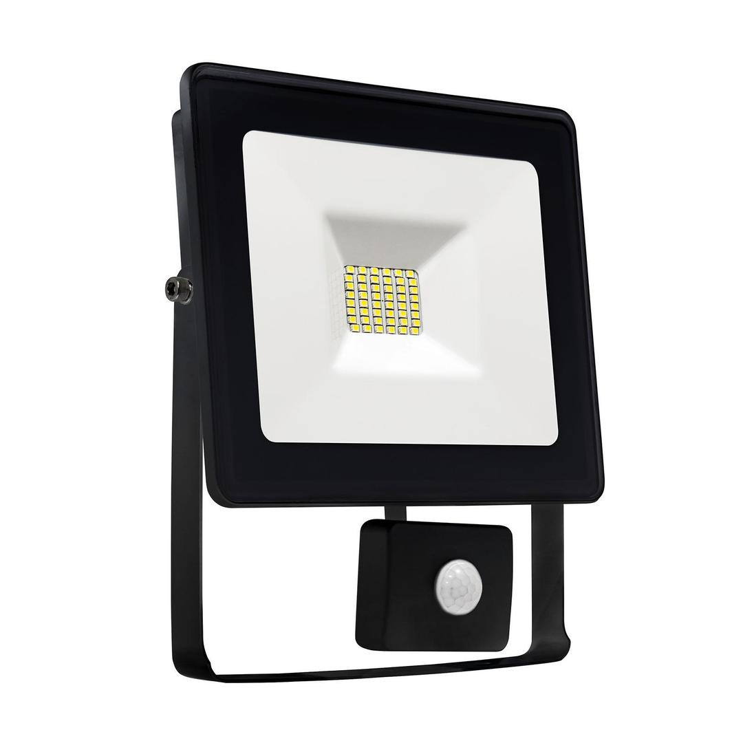 Noctis Lux Smd 120 St 230 V 10 W Ip44 Ww Wandfluter Schwarz Mit Sensor