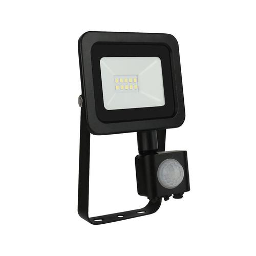 Noctis Lux 2 Smd 230 V 10 W Ip44 Nw Schwarz Mit Sensor