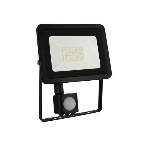 Noctis Lux 2 Smd 230 V 20 W Ip44 Cw Schwarz Mit Sensor