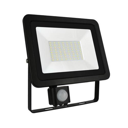 Noctis Lux 2 Smd 230 V 50 W IP44 NW Schwarz Mit Sensor