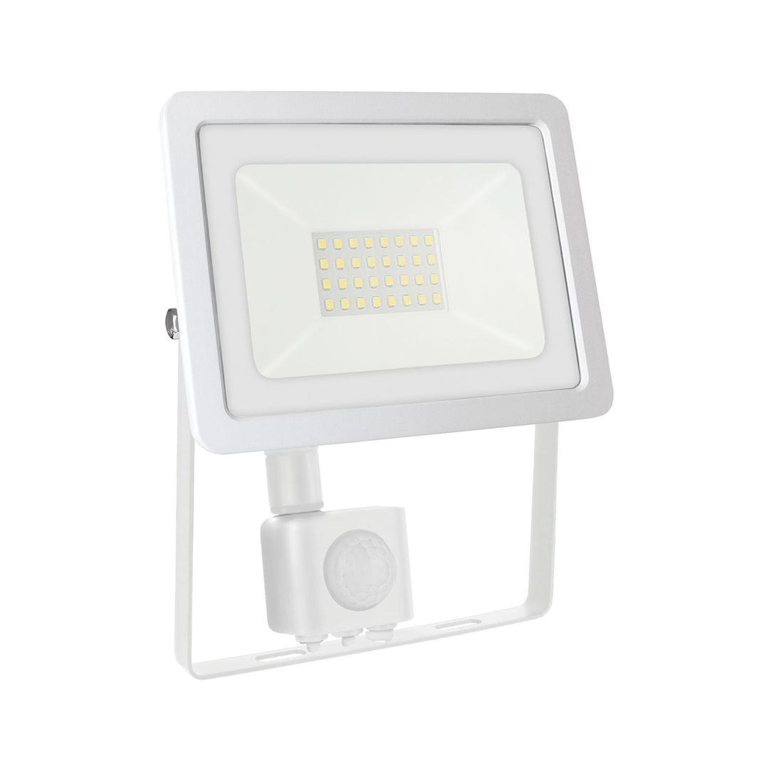Noctis Lux 2 Smd 230 V 30 W Ip44 Cw Weiß Mit Sensor