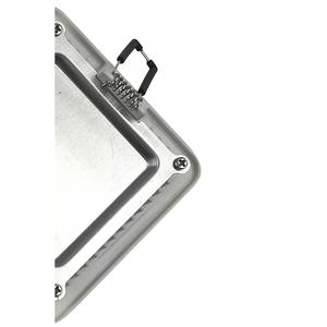 Algine Led 24 V 5 W Ip20 Ww Decke WEISS Rahmen small 1